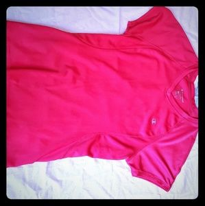 Pink champion athletic top
